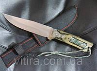 Охотничий нож с темляком. Нож для выживания Columbia USA Saber. Нож эксклюзив., фото 1
