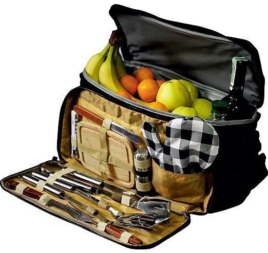 Набор для пикника Скаут с изотермической сумкой 10.5л (42*25*23см)