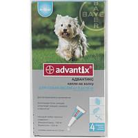 Капли Адвантикс дляс собак весом 4-10кг 1,0мл 1 пипетка BAYER