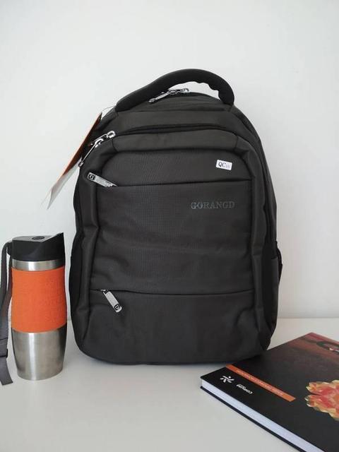 Серый рюкзак подростковый для школы Gorangd 42*32*15 см