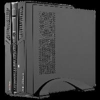 LogicPower Slim LP S603 BK Встроенная акустика + Блок питания MATX 400W 8см - корпус компьютерный