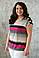 Майка с открытыми плечами ТАНЯ в 3х цветах, фото 6