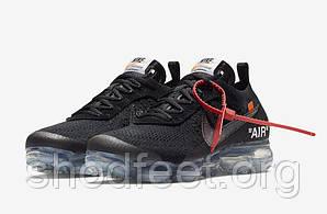 "Мужские кроссовки The 10: Nike Air VaporMax Fk ""OFF-WHITE"" Black"