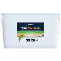 Клей для стеклохолста, флизелина, виниловых обоев на бумажной основе Bostik Wall Standard 70, 15л