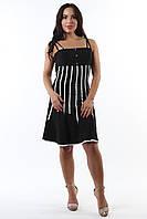 Платье черное коктейльное Forza Viva