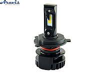 Автомобильные светодиодные LED лампы H4 Cyclone 5000K type 15 комплект для авто