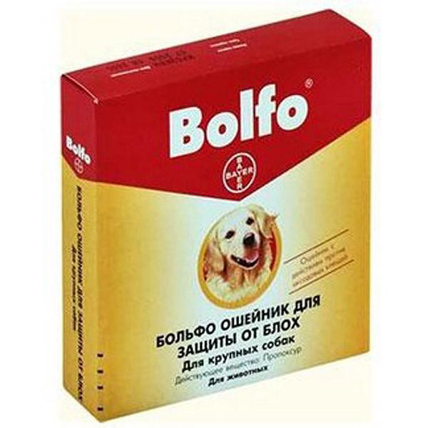 Больфо ошейник от блох, вшей и клещей  65 см.  Bayer