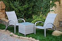 Комплект садовой мебели ПЛЯЖ. Мебель из искусственного ротанга.