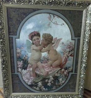 Картина Дети  19 век HECK Robert, фото 2