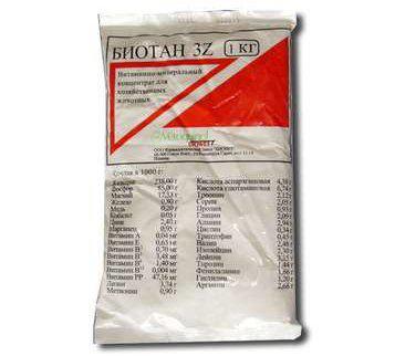 Биотан 3Z 1кг Biovet