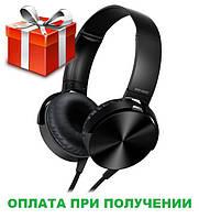 Наушники гарнитура накладные Extra Bass MDR-XB450 Black Черные