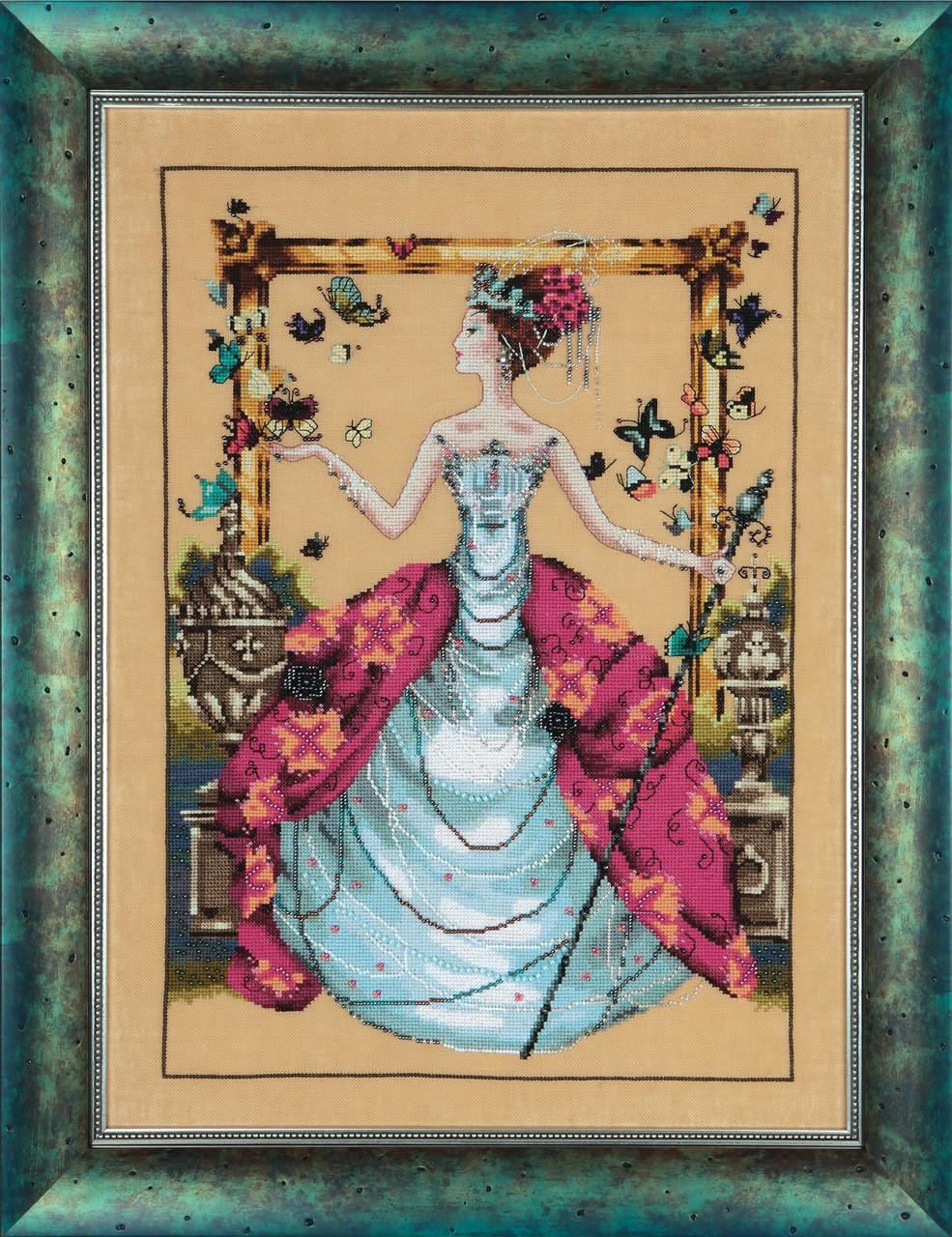 Схема Mirabilia Designs Queen Mariposa Королева Марипоса MD133