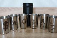 Подарочный набор рюмок для алкогольных напитков, фото 1