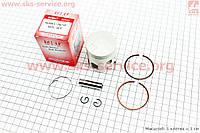 Поршень, кольца, палец к-кт Yamaha JOG65 3KJ 44мм +0,50 (палец 10мм)