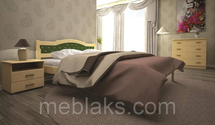 Кровать ЮЛІЯ 2 90х190 ТИС, фото 2