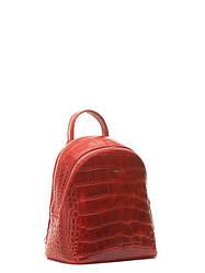 Кожаная сумка-рюкзак на плечо маленькая в 3х цветах 15566A