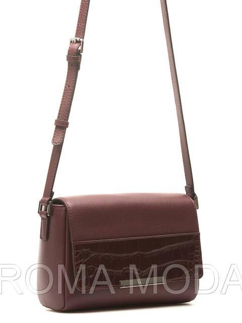 Модная кожаная сумка через плечо в 2х цветах 15605A-W1