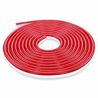 Светодиодный NEON 220В JL 2835-120 R IP65 красный, герметичный, 1м