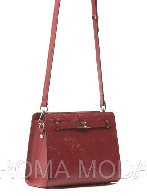 Красивая женская кожаная сумка в 2х цветах L-38368