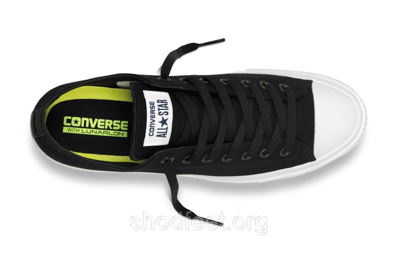 Мужские кеды Converse Chuck All Star 2 Black White