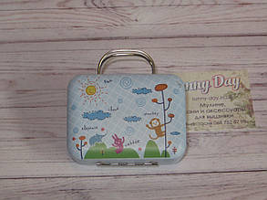 Коробочка для мелочей (игольница) - чемоданчик, принт №11
