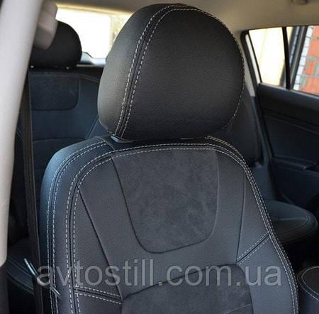 Чехлы в авто KIA Sportage 3 корейская сборка
