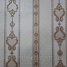 Обои Дамаск 2 3583-02 виниловые на флизелиновой основе ширина 1.06,в рулоне 5 полос по 3 метра.