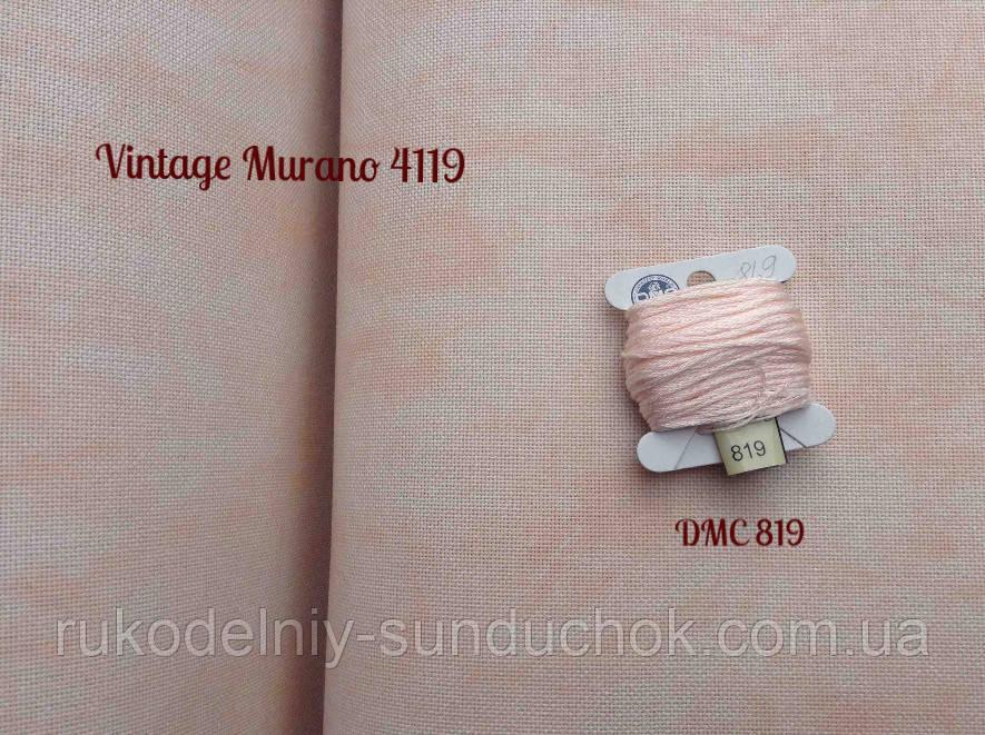 Тканина рівномірного переплетення Zweigart Murano Lugana 32 ct. 3984/4119 (Лімітована серія!!!)