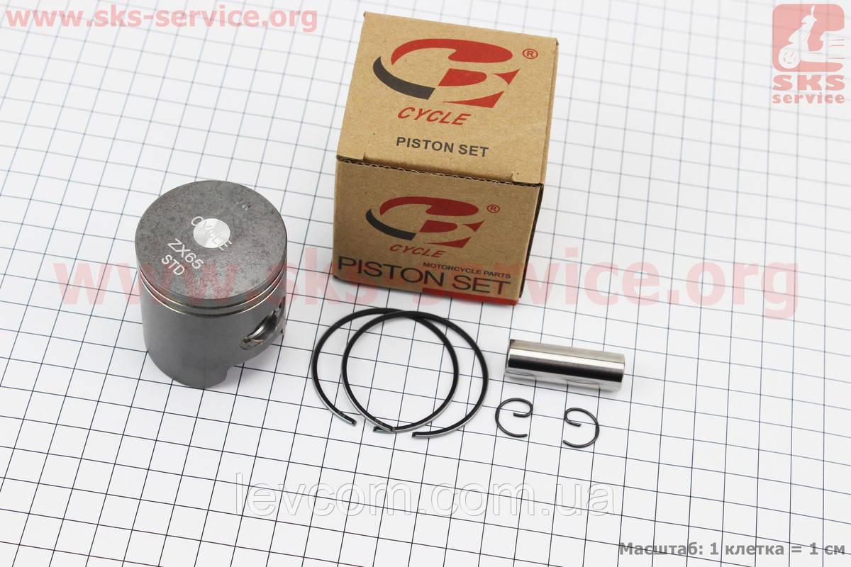 Поршень, кольца, палец к-кт Honda DIO ZX65 44мм STD (палец 12мм)