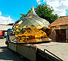 Купол для храма из нитрид титана (3 х 2,87м)