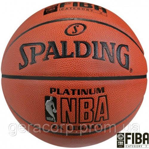 Баскетбольный мяч Spalding NBA Platinum ZK Legacy