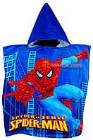 Полотенце-пончо с капюшоном Spider-man, человек паук