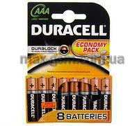 Батарейка ААА Duracell LR03 MN2400, 1x8шт.