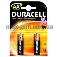 Батарейка АА Duracell LR6 MN1500, 1x2шт.