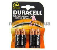 Батарейка АА Duracell LR6 MN1500, 1x4шт.