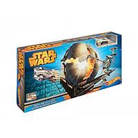 Hot Wheels Звезда Смерти Star Wars Death Star Battle Blast Track Set