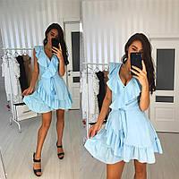 Женское яркое платье на подкладке (расцветки), фото 1