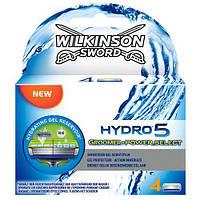 Сменные кассеты Wilkinson Sword  Hydro 5 Groomer  4 шт