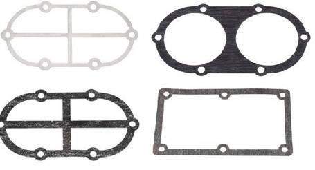 Комплект прокладок для двухпоршневого компрессора (диаметр поршня 55мм*2шт), фото 2