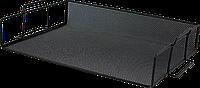 Лоток для бумаги горизонтальный, металлический, черный bm.6251-01