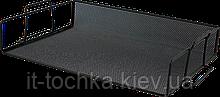 Лоток для бумаги горизонтальный buromax bm.6251-01 металлический, черный