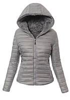 Женская стеганая куртка с капюшоном в Украине. Сравнить цены, купить ... a7612550cb0