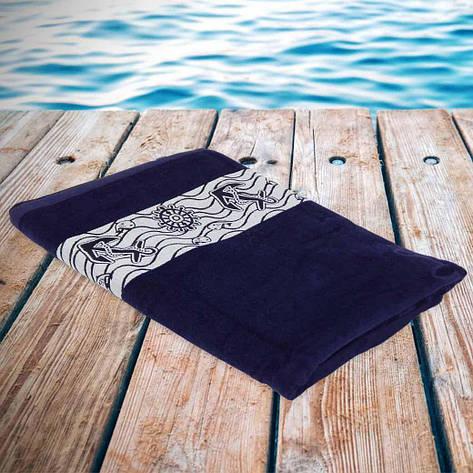 Полотенце Philippus пляжное 90 x 170 (Якорь) 90x170 8, фото 2