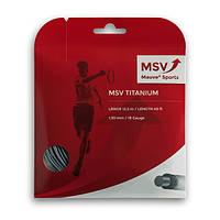 Теннисные струны MSV Titanium 12m