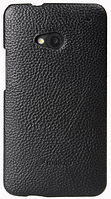 Чехол-накладка Melkco Snap Leather Cover для HTC One M7 (O2O2M7LOLT1BKLC) Black