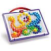 Набор Quercetti - Для занятия мозаикой (10-15-20 мм фишки (160 шт.) + доска)