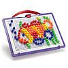Набор Quercetti - Для занятий мозаикой (10 мм фишки (140 шт.) + доска)