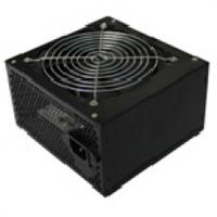 Блок питания компьютерный Merlion 500W 12cm Black + кабель питания, ОЕМ
