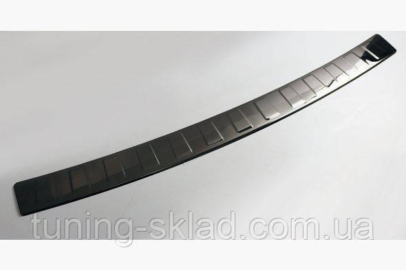 Хром темный на задний бампер BMW X3 F25 (БМВ Х3 Ф25)