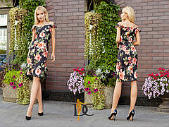 Очень красивое женское платье футляр , фото 2